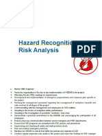 Hazard Recognition and Risk Analysis Training Nc