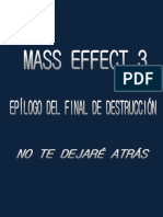 Epílogo Alternativo Mass Effect 3