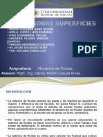 Fuerzas en Superficies Planas