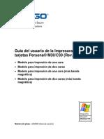 Guía del usuario de la Impresora de tarjetas Persona® M30/C30