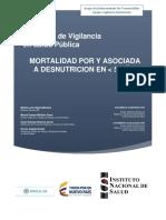 PRO Mortalidad Por Desnutricion en Menores de Cino Años