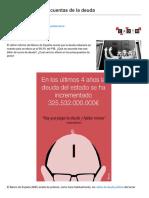 Fresnillo, Iolanda - Los Cuentos de Las Cuentas de La Deuda