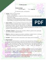 Planos de aula - 2º ano do ensino fundamental II