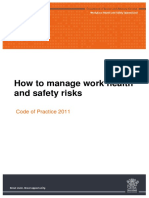 How to manage work health and safety risks