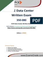 ExamsGrade 350-080 Exam Preparation Material