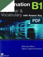 DestinatiDestination b1 Grammar Vocabulary With Answer Keyon b1 Grammar Vocabulary With Answer Key