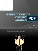 Generations of Computer Languages
