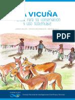 Manual para uso y conservación de la vicuña