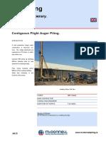 A613 CFA Piling