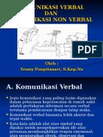 Komunikasi Verbal Dan Non Verbal'07