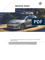 Catalogo Accessori Volkswagen Golf