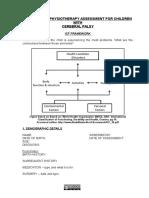 Icf c.p. Assessment