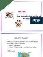 Raiva Drª Danielle Maciel