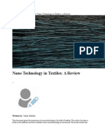 Nano Technology in Textiles a Review