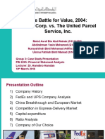 FedEx UPS Case Study