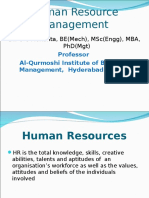 Introduction to Human Resource Management_GCM