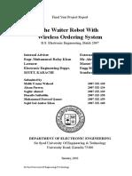 Robotic Waiter
