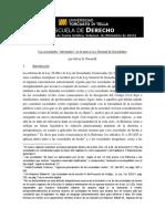 N° 16 Las Sociedades Informales Por Poratelli