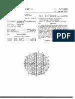 monopulse radar antenna structure