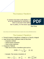 Inverse Z Transform