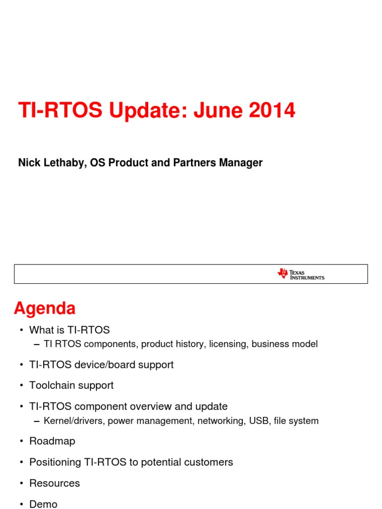 1423 TI-RTOS Product Update   Transport Layer Security