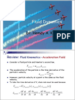 Lecture 2 0 Fluid Dynamics