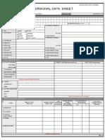 Pds Blank Sheet
