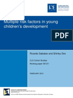 WP 2012-1 Multiple risk factors in young children's development - SABATES, R AND DEX, S.pdf