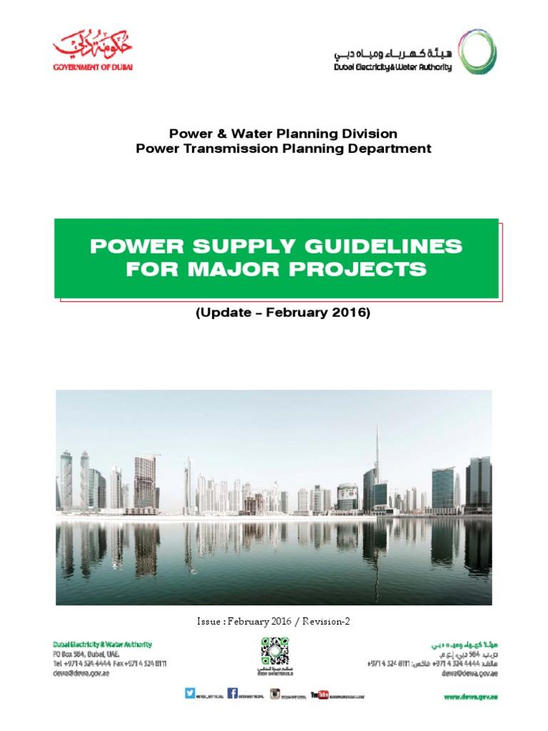 dewa power supply guidelines for major project 2016 latitude rh es scribd com dewa distribution substation guideline 2014 edition dewa distribution substation guideline 2014 edition