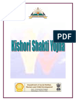 Kishori Shakti Yojna