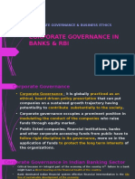 Corporate Governance & Business Ethics_rbi & Banks