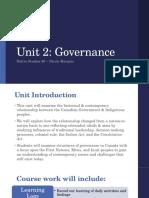 unit 2- governance