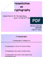 31100298 Cryptography