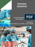 RESPONSI Hemoroid