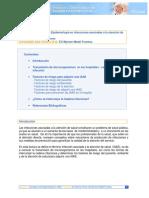 Conceptos de Epidemiologia en IAAS