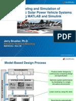 2015 Solar Car Conference MathWorks Workshop