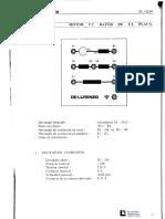 Motor CC Datos de Placa