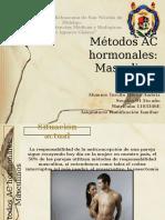 Métodos AC Hormonales Para Hombre