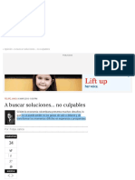 A buscar soluciones… no culpables | ELESPECTADOR.COM