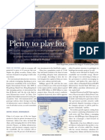 Chinese Infrastructure - Plenty to Play For (Infrastructure Investor, June 2009)
