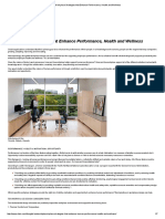 Workplace Strategies That Enhance Performance, Health and Wellness