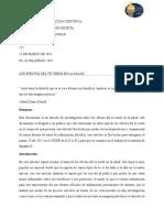 Beneficios Del Té Verde - Artículo de Divulgación
