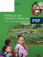 Setting Up and Running a School Garden - Manual - English