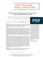 Relation Between Renal Dysfunction and Cardiovascular After IM