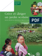 Setting Up and Running a School Garden - Manual - French