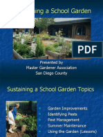 Sustaining a School Garden