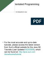 03 Java - LN01startingpoint