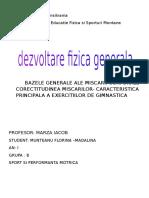 GIMNASTICA -DFG