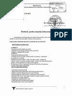 PR-26 SM SJUT-Protocol Pentru Injectia Intravenoasa
