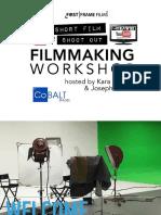 The 72hour Short Film Shootout LIVE Filmmaking Workshop Presentation